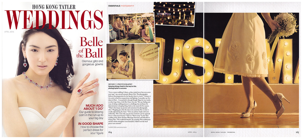 Hong Kong Tatler Weddings April 2014