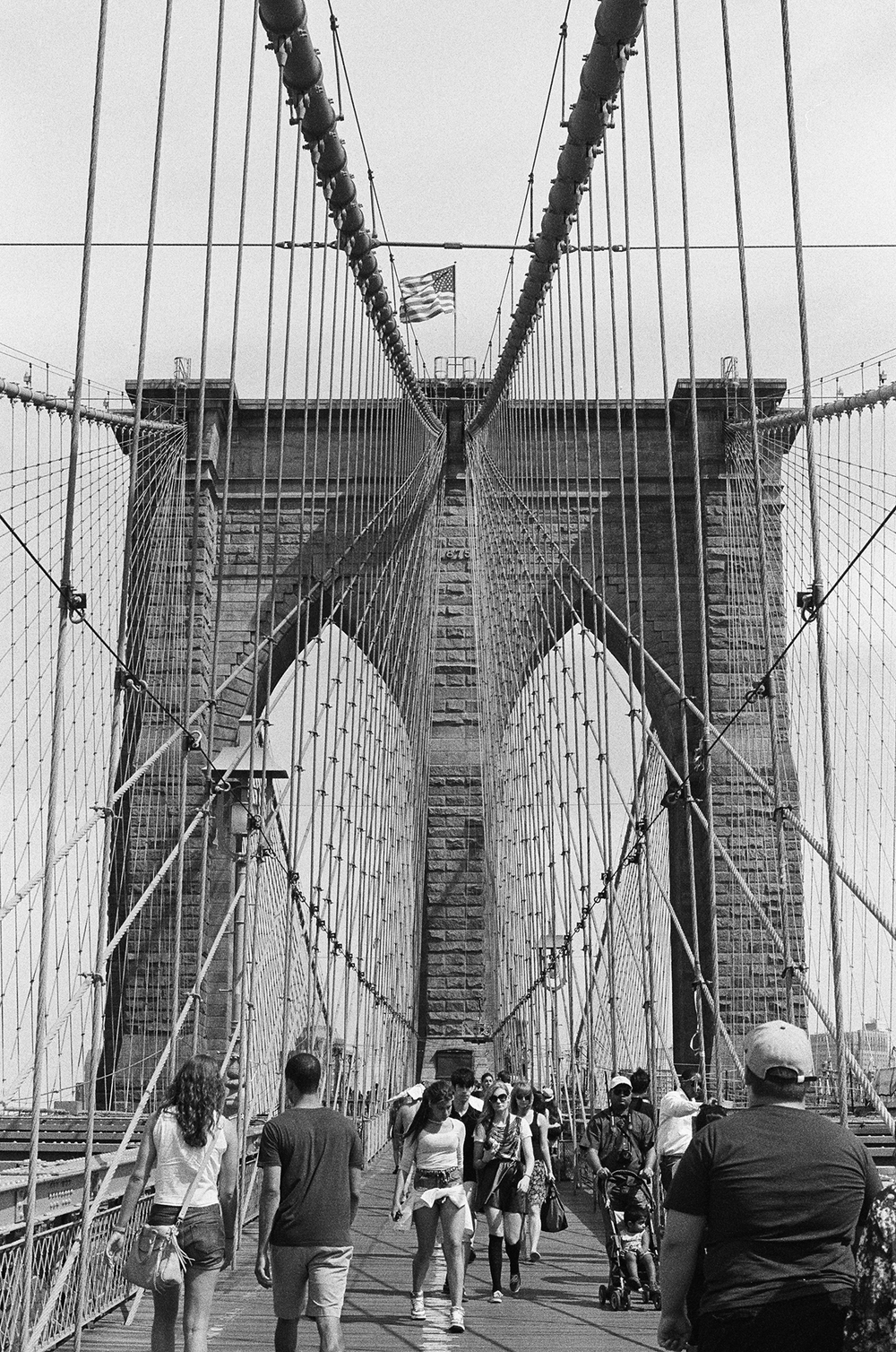 the classic brooklyn bridge