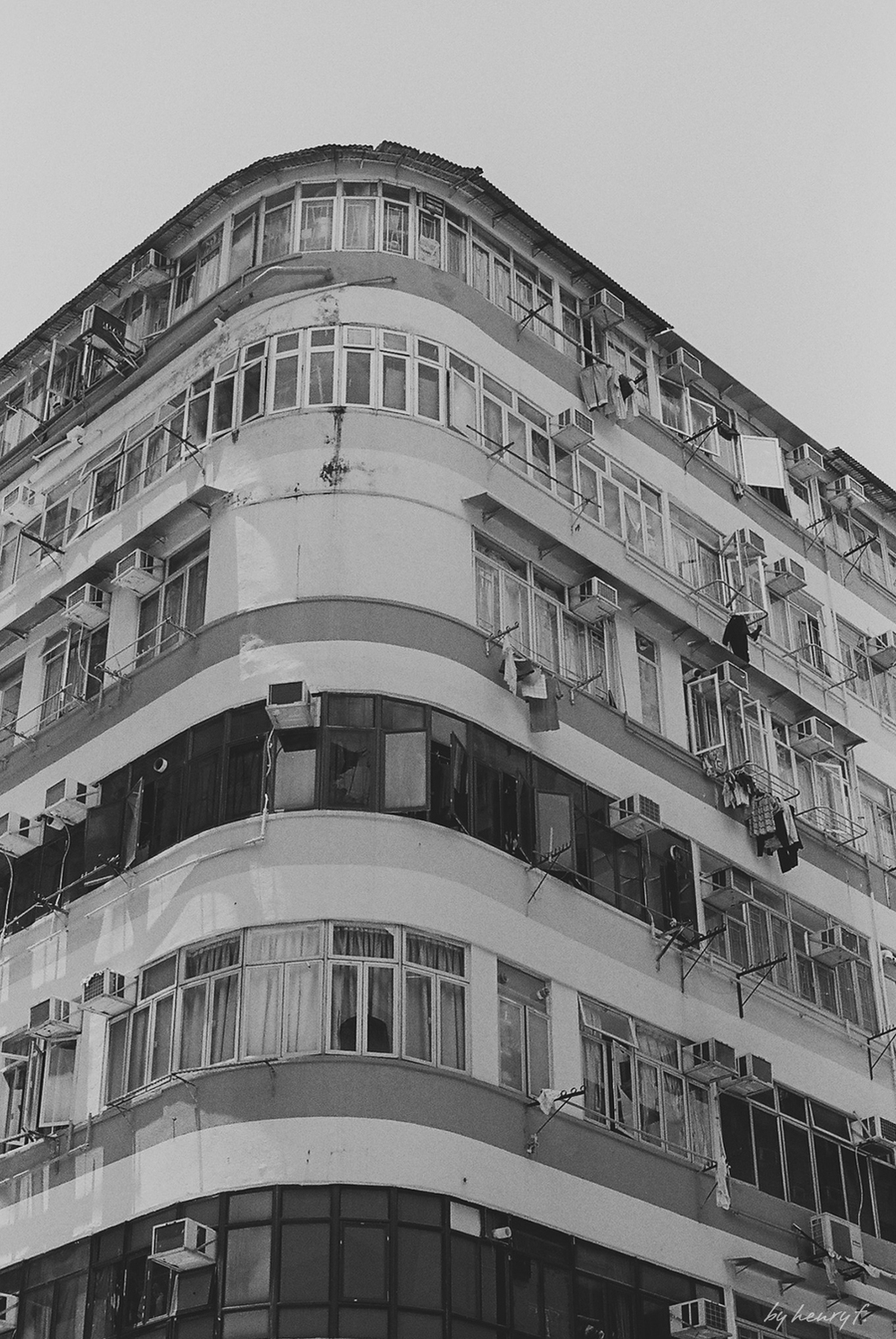 tenement building in shan shui po