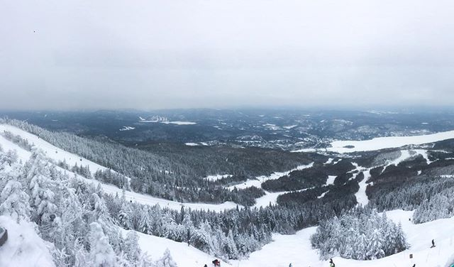 Unreal unplugged trip to Tremblant with the boyss! #senderr