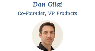 Dan, father to Roy, Ofri and Omer, is Head of Products and brings 12 years of product management in the B2B and B2C worlds, in the US and Israel. Dan has experience in R&D resource management, consumer products, mobile ecommerce, online advertising, product strategy and analytics.