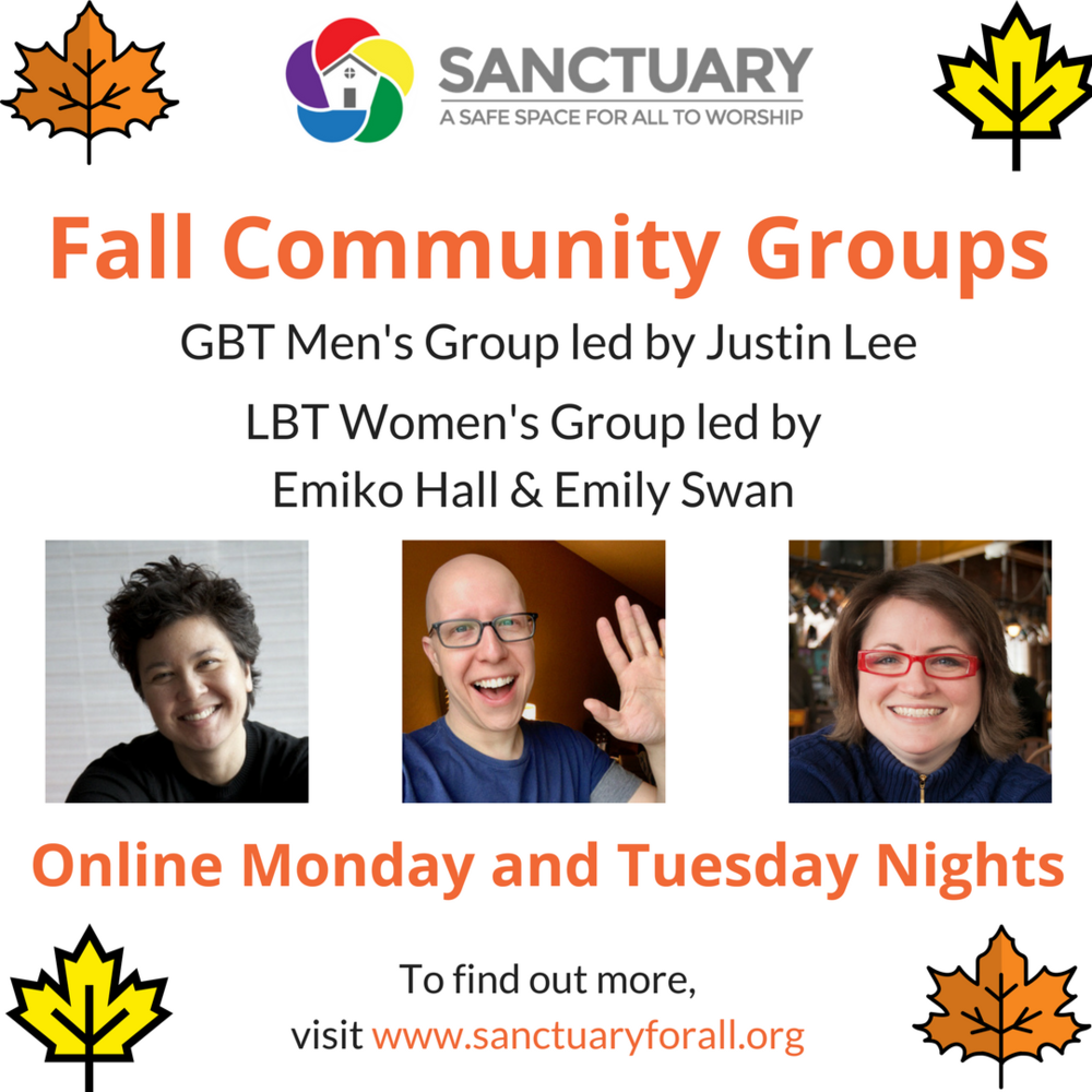 FALL COMMUNITY GROUP FLYER