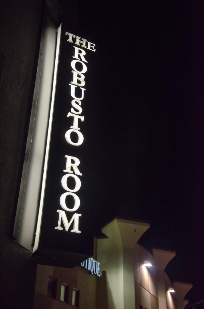 The Robusto Room bar night club