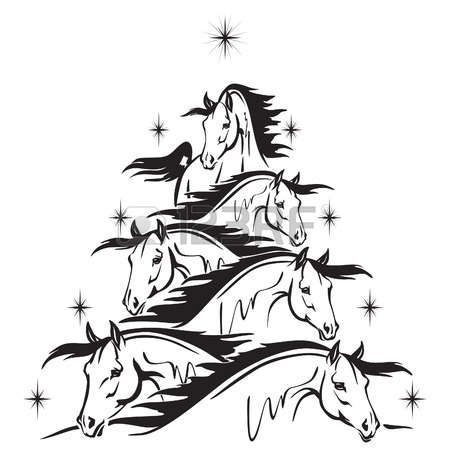 32505961-christmas-tree-of-horses-heads.jpg