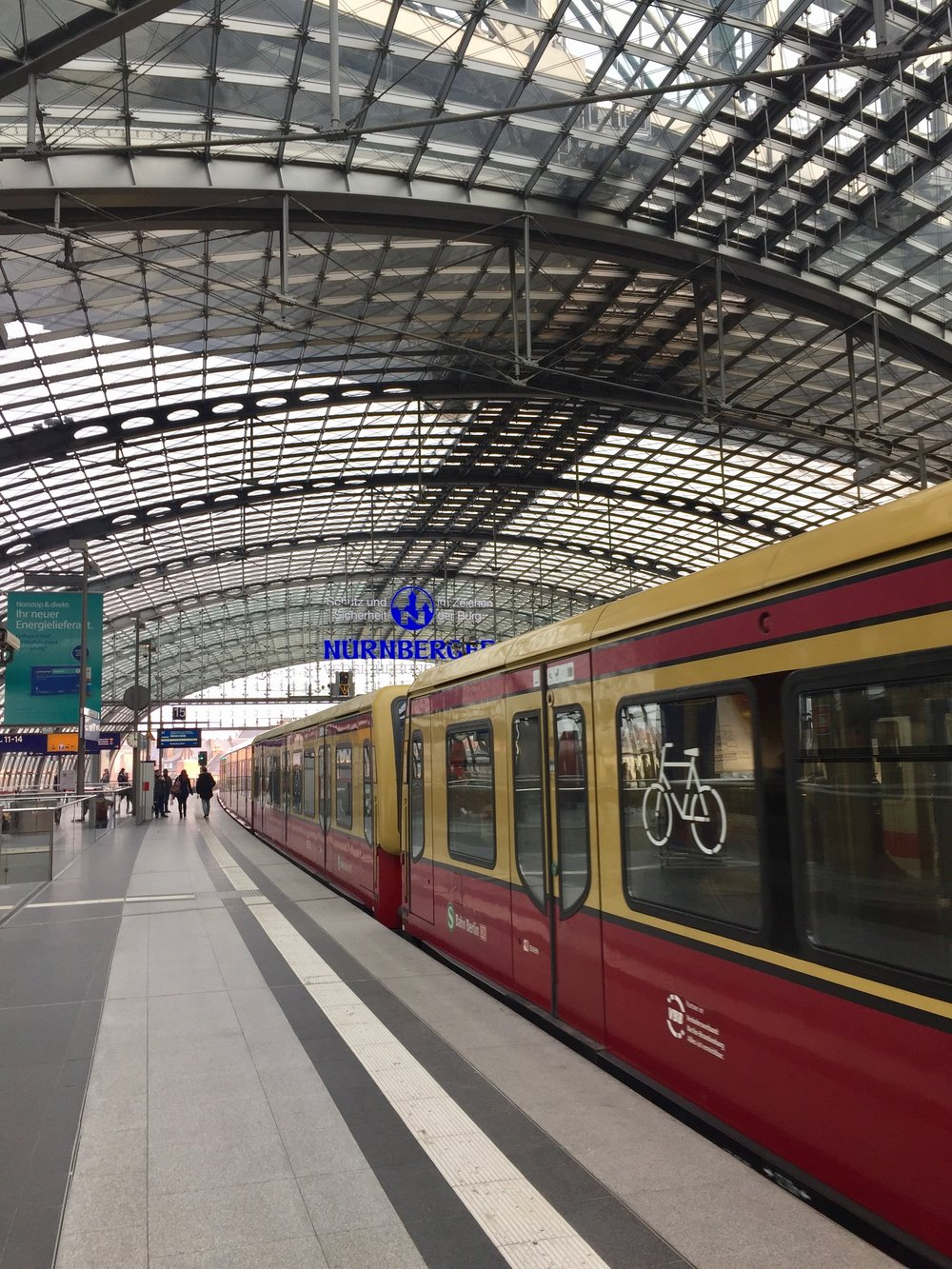 Public transportation was very easy in Berlin. You can take the train almost anywhere. Understaing the annoucenrs is a different story.