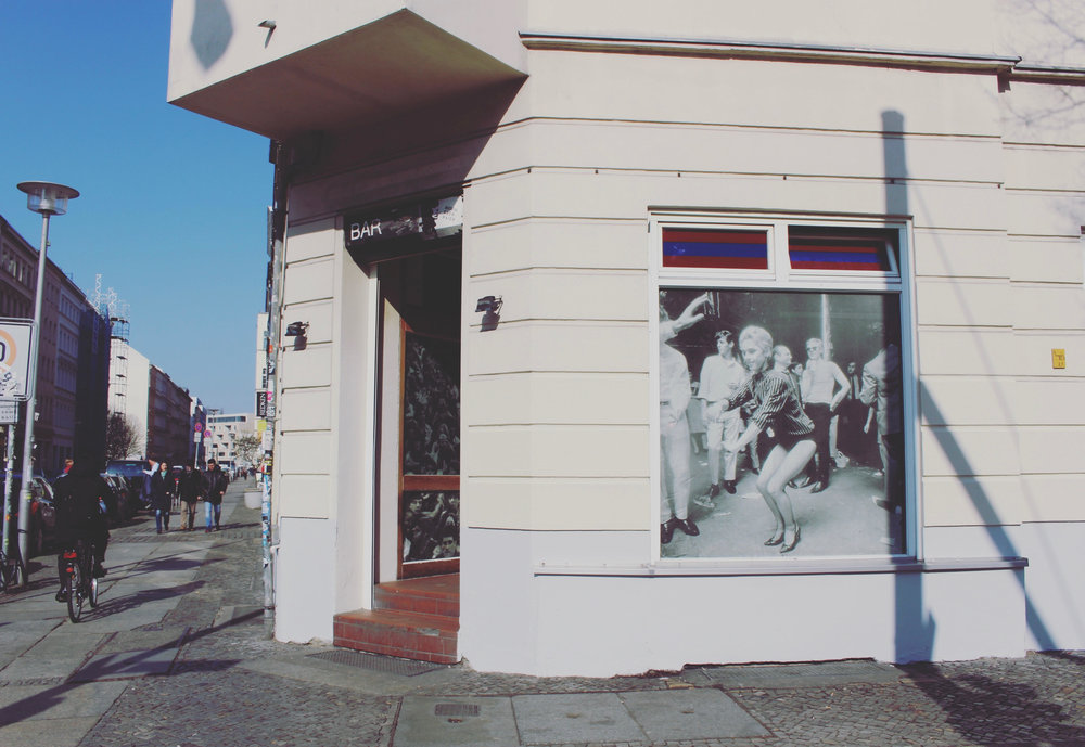 Berlin loves not only Andy Warhol, but Edie Sedgwick too. I loved seeing them everywhere.