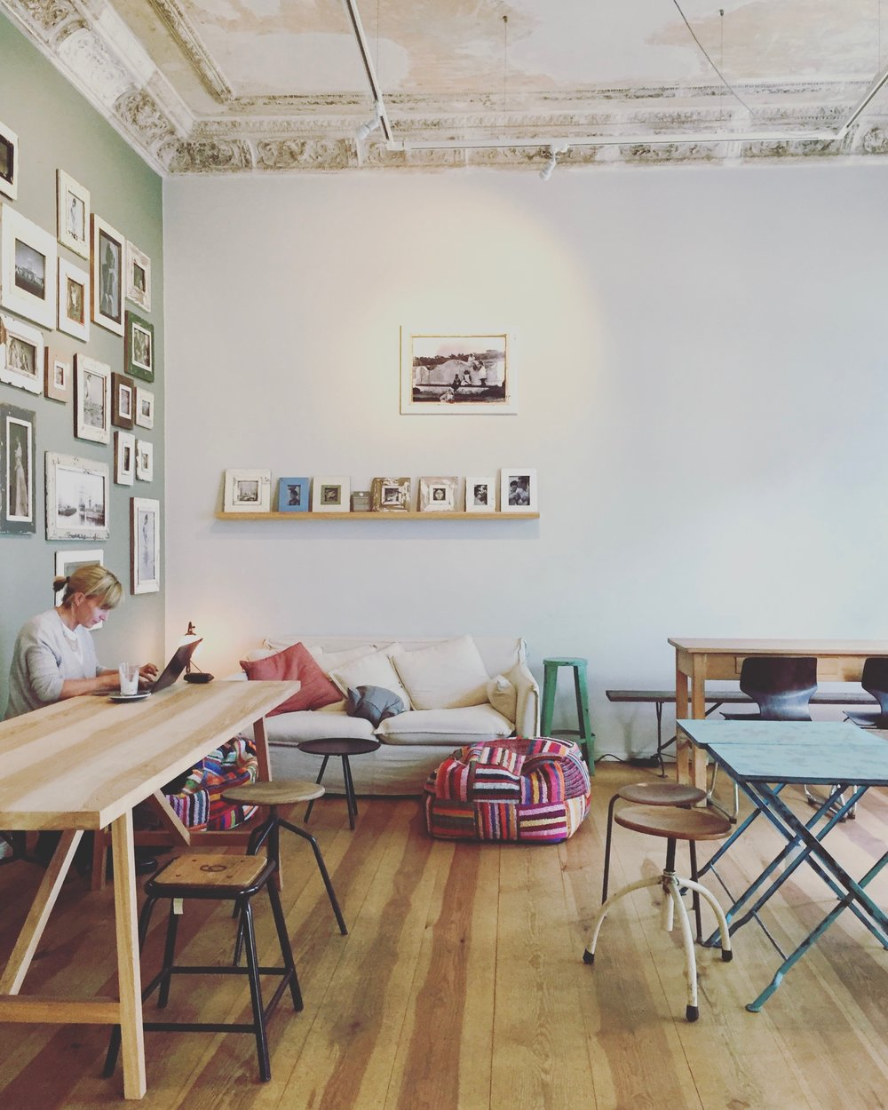 A sweet little South African bakery called  Coffee Room.