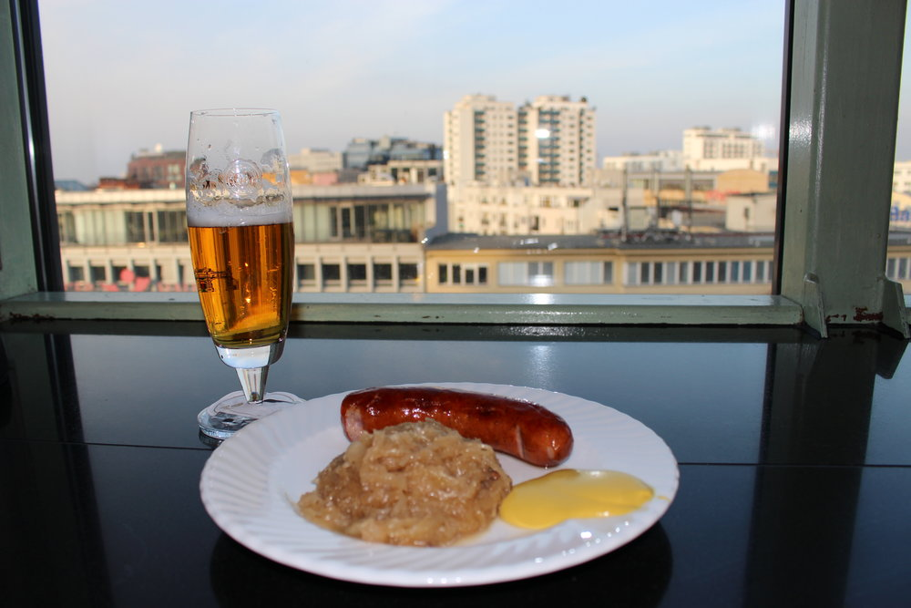 Growing up, this is the favorite meal my grandmother would make me. Sausage + sauerkraut. This restaurant was on top of the most insane mall I've ever been to. Go to Mall of Berlin just explore the food court.