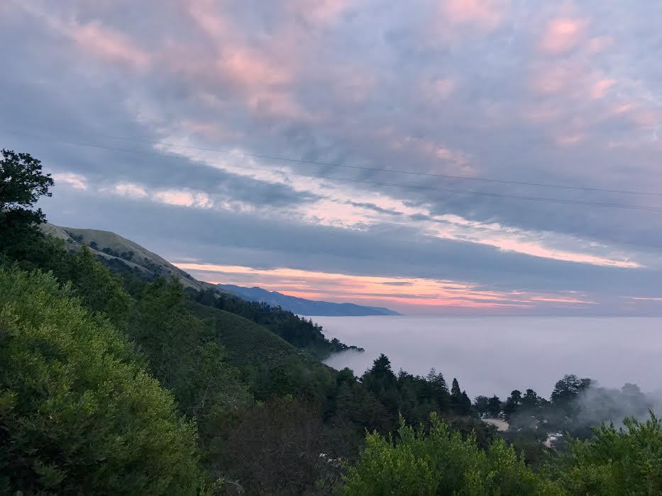 Ventana views + the sunset.