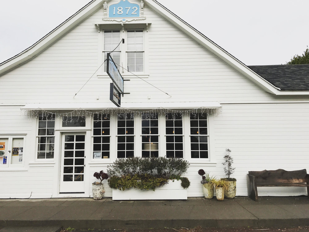 My favorite shop in Mendocino is  Honey & Roe . Is has great clothing, candles, and home decor!