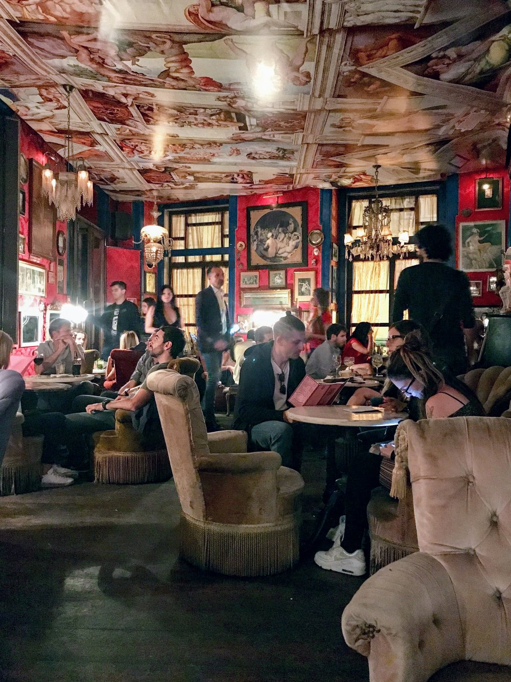 In my first Lisbon post, I said you must visit the bar  Penso Amor . Look at how cool this place is! There are a few surprises inside. I won't ruin them for you, you'll have to experience them for yourself.