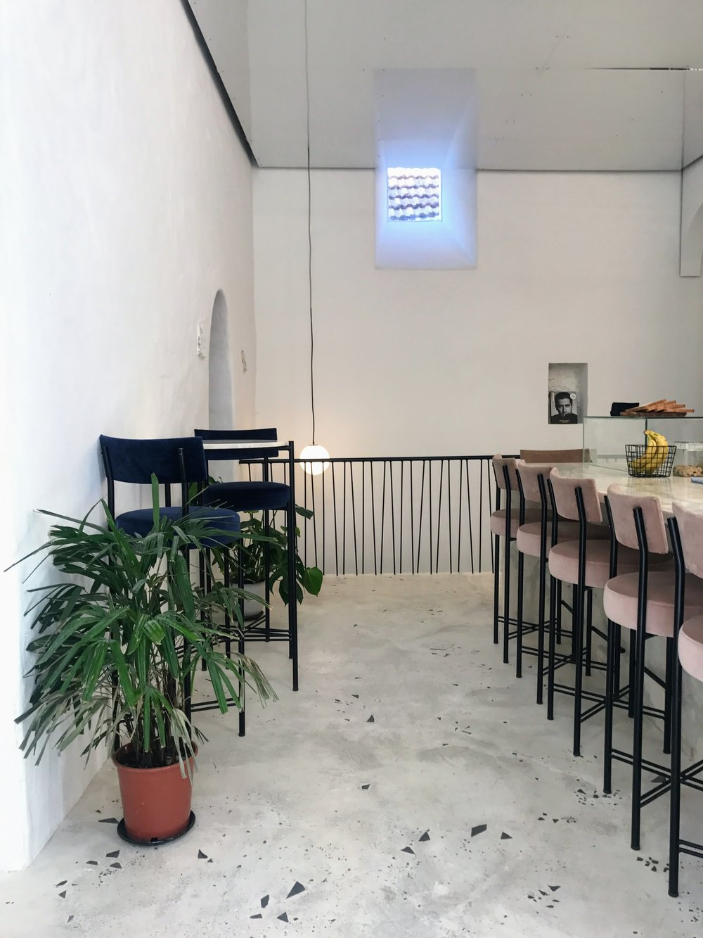 A cool spot for breakfast called  Dear Breakfast . They have great smoothies and toasts.