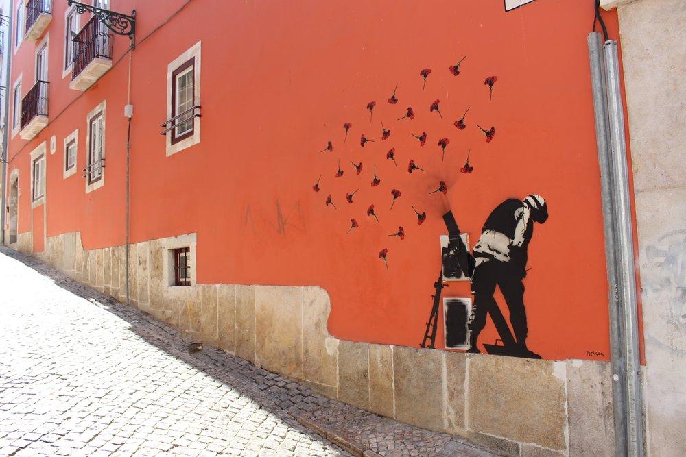 The graffiti all over Lisbon was pretty cool.