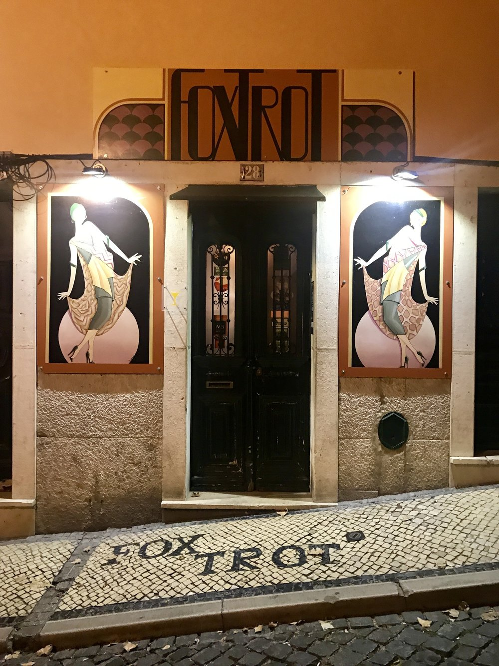 Another favorite bar of ours was  Foxtrot . Again, you have the ring the doorbell to be let in. People say this bar is the best-kept secret of Lisbon. The bartenders are super helpful, the drinks are unique, and the decor is too cool.