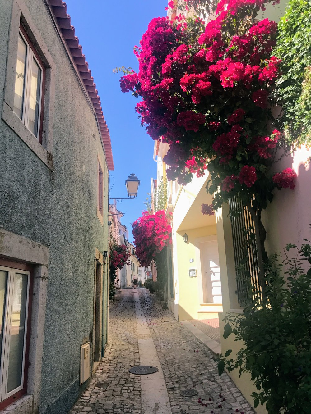 The streets of Cascais.