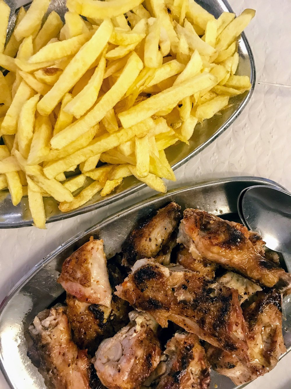 This  was the best chicken we had in Lisbon.