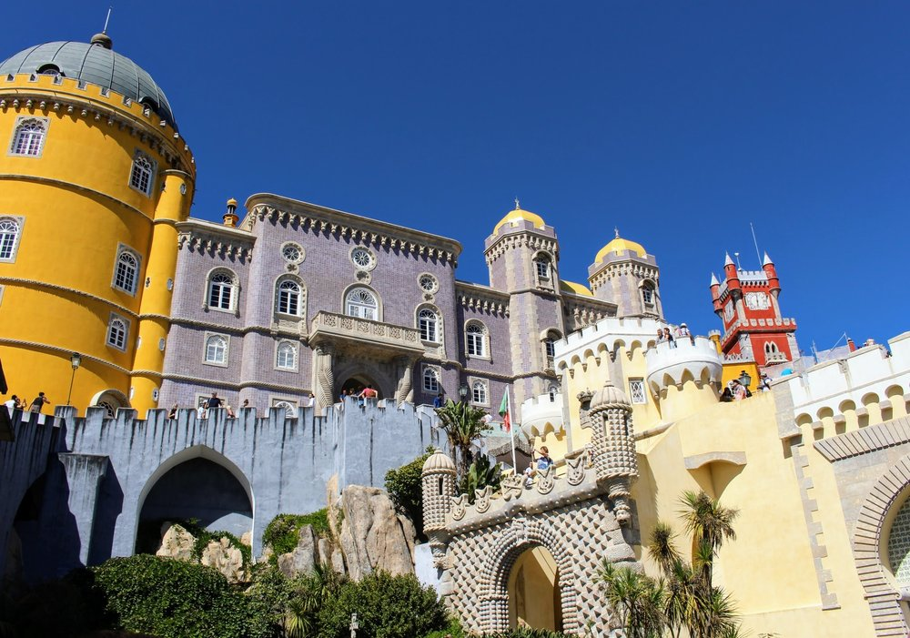 Pena Palace  was my favorite. The colors, the tiles, and the decor was breathtaking.