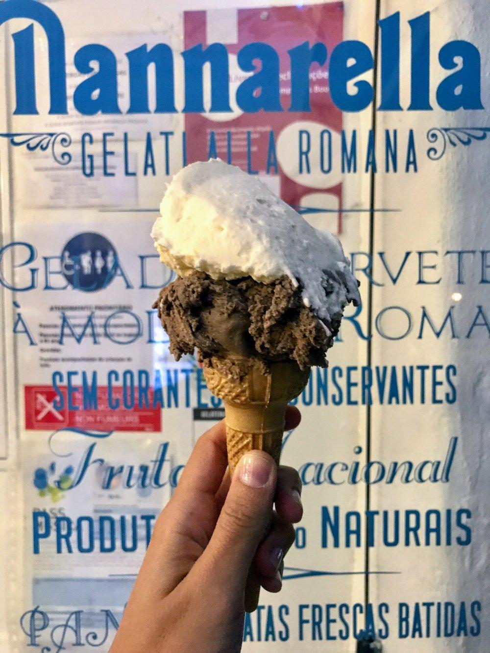 Get gelato at  Nannarella . Best gelato in Lisbon.