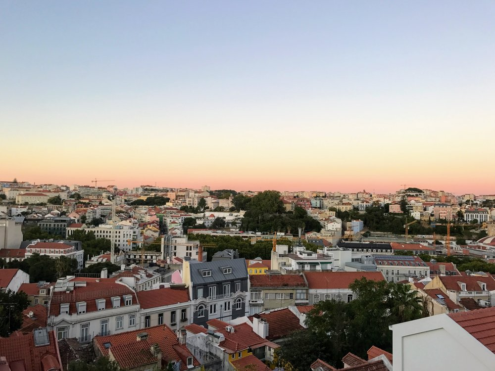 One of the Lisbon sunsets :)