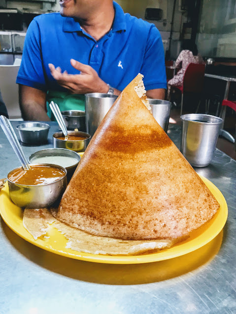 Ghee dosa. ( I can't remember the actual name of this one.)
