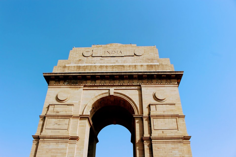 We stopped by the India Gate- a memorial to 70,000 soldiers of the  Indian Army  who died. It was hard to stay and enjoy the moment as you get bombarded by people selling you trinkets.
