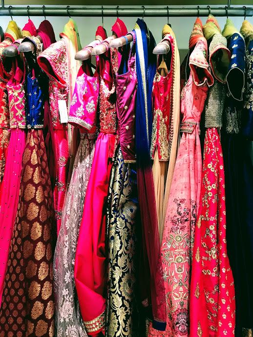 Sari options!