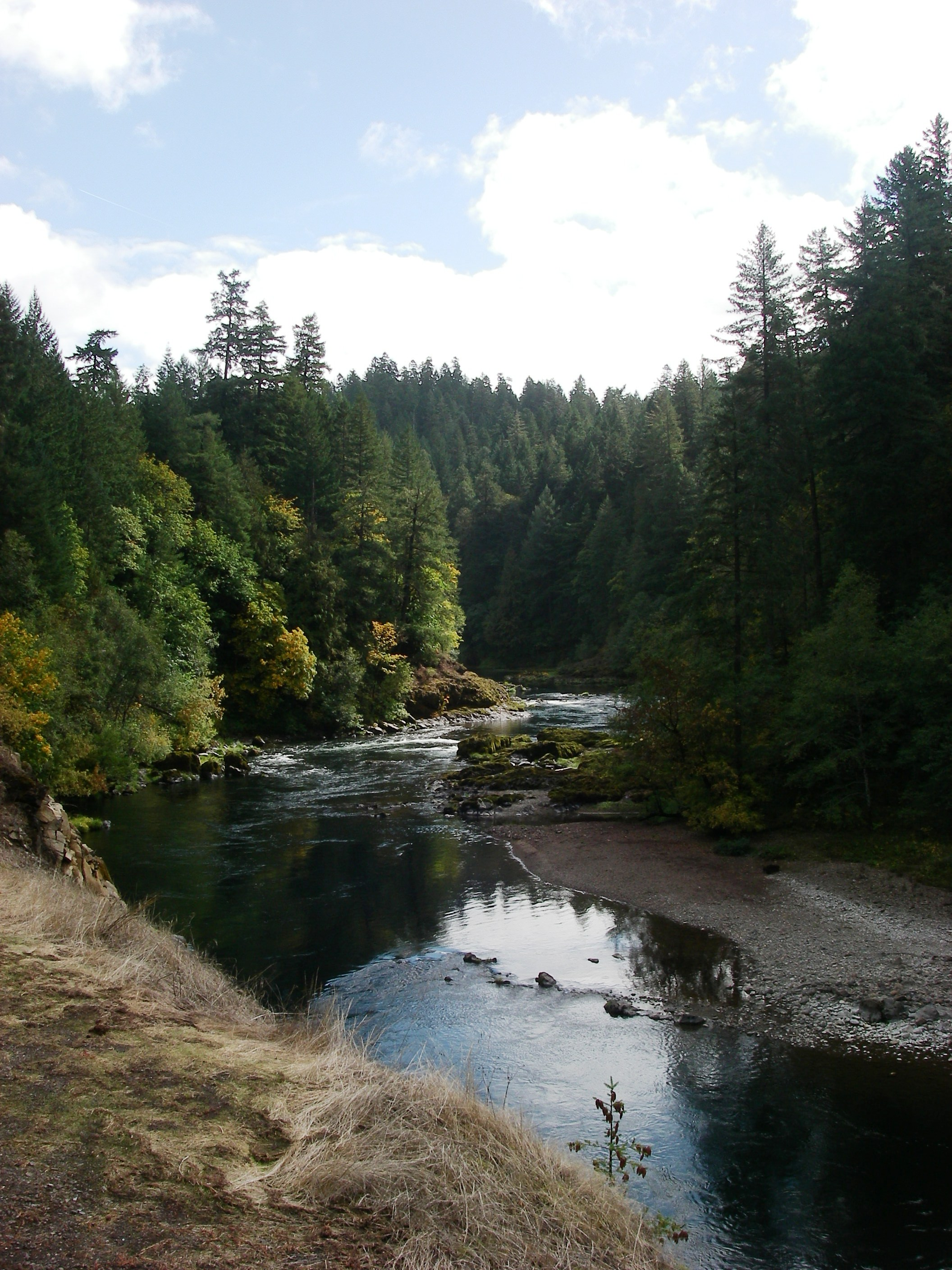 The beautiful North Umpqua