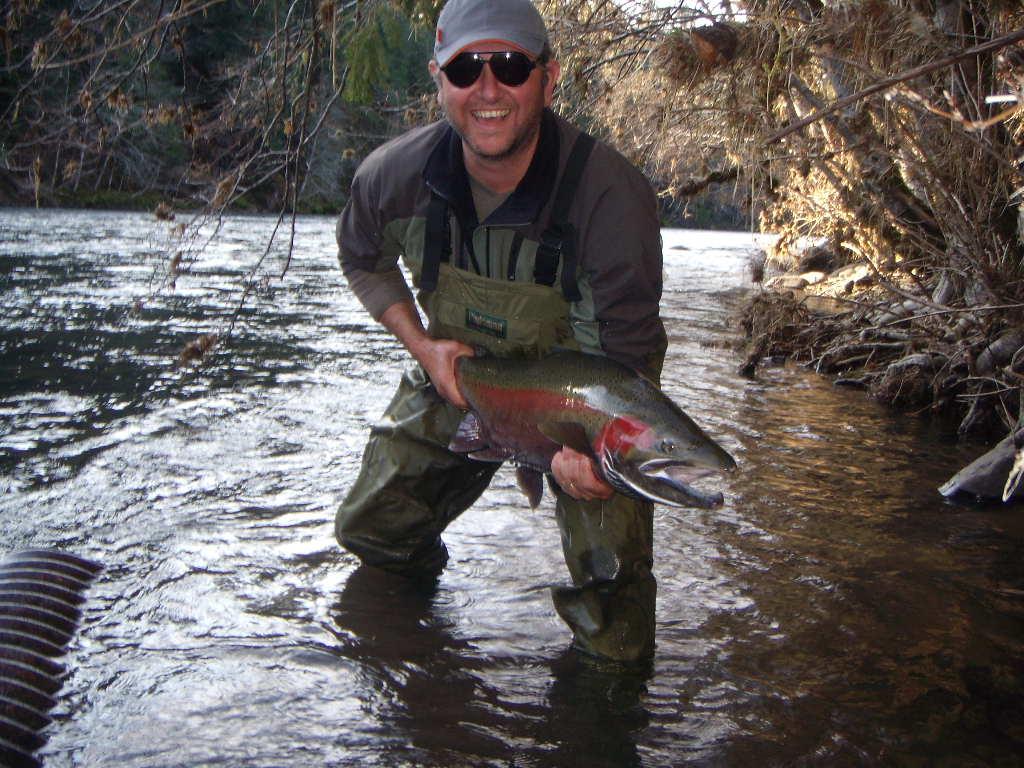 Jim Zondanos form Australia with a 36 x 21 inch buck