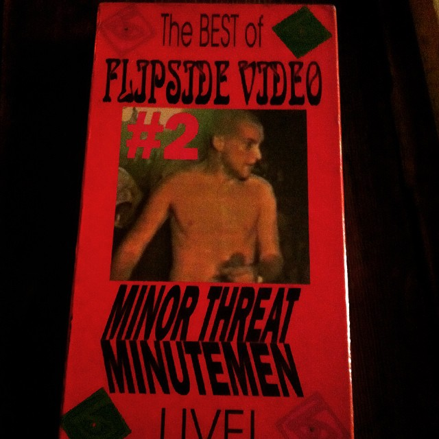 Now playing in the Cave! Best of Flipside V2 Minutemen/Minor Threat.