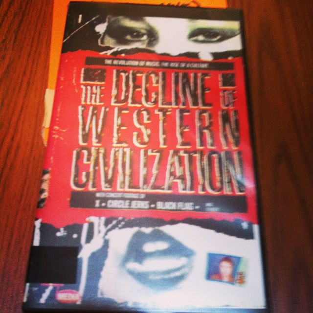 Now playing in the Cave! Decline of Western Civilization Pt 1