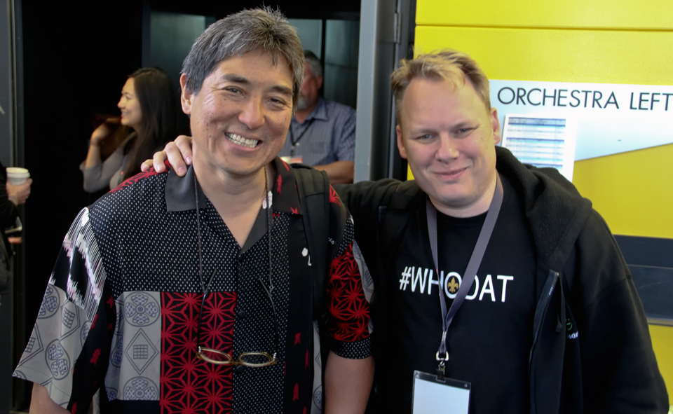 Me and Guy Kawasaki at the Google+ Photographers Conference