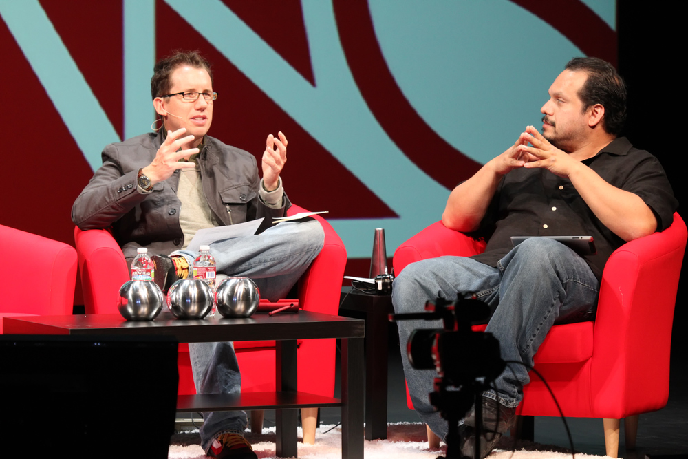 Trey Ratcliff and R.C. Concepcion at the Google+ Photographers Conference