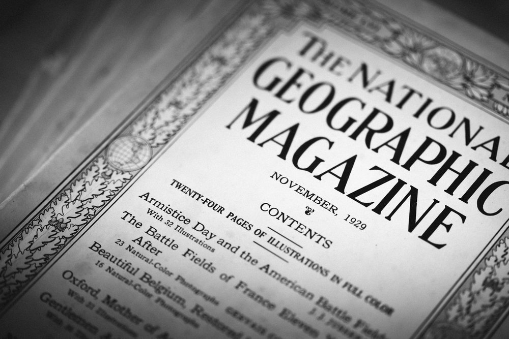 """ The National Geographic Magazine, 1929 "" by  jonastana  is licensed under  CC BY-NC-ND 2.0"