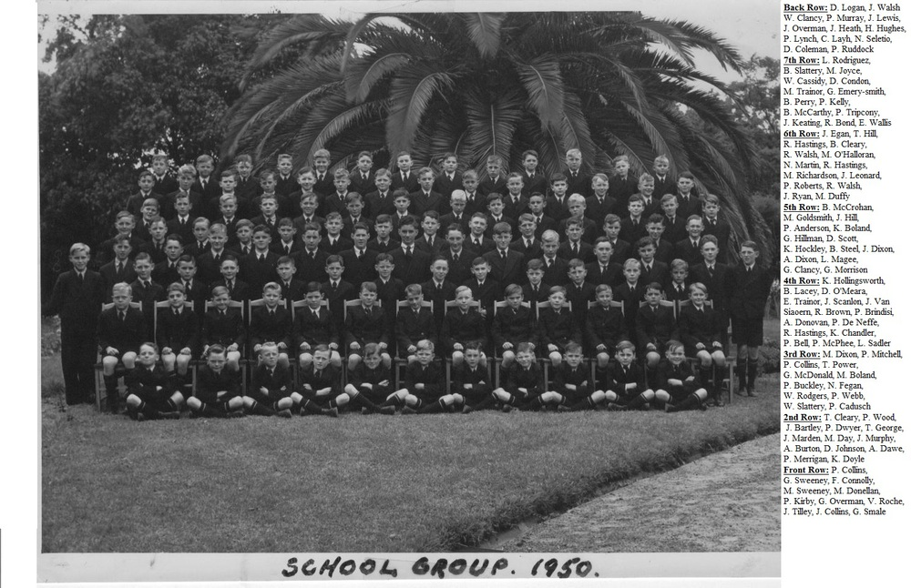 1950 School Group Marcellin