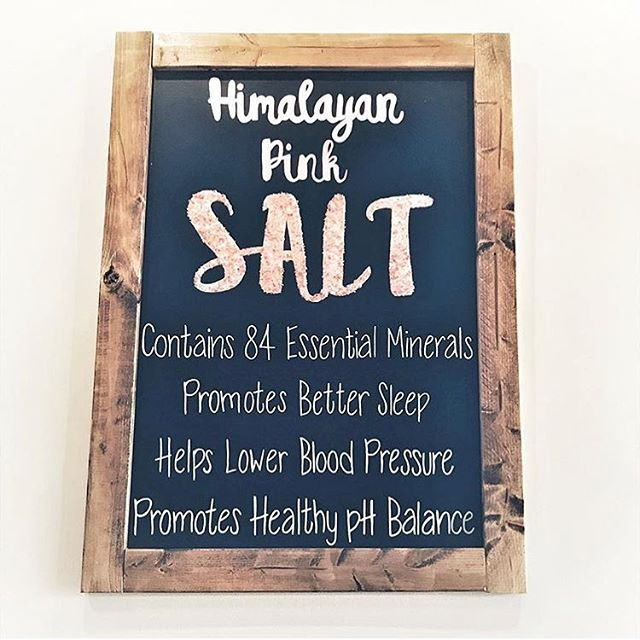 . . . #nutrition #food #foodporn #functional #medicine #salt #pink #hymalayansalt #healthy #happy #delicious #fitchicks #fit #dinner #wednesday #gethsh #wellness #beautiful #body #sleep #vitamins #functionalmedicine #ph #blood