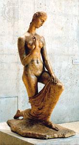 Wilhelm Lehmbruck, Kneeling Woman, 1911