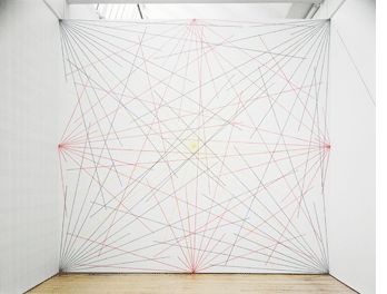 Sol Lewitt, Wall Drawing # 273, Dia Beacon- drawn from instructions licensed by the artist.