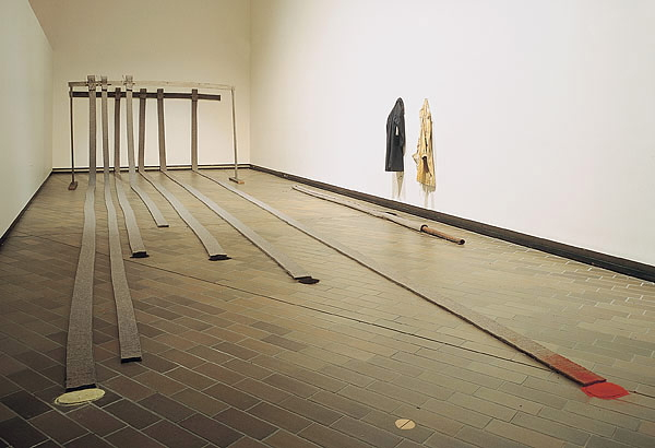 Joseph Beuys, Stripes from the house of the shaman, National Gallery of Australia