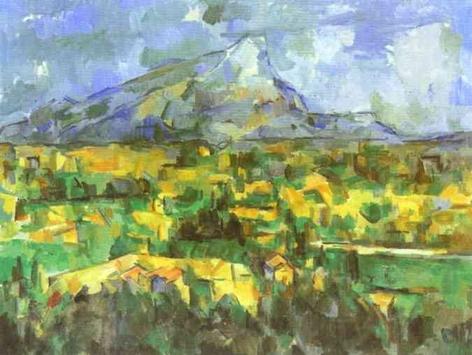Paul Cezanne, Mont Sainte Victoire, 1904-06