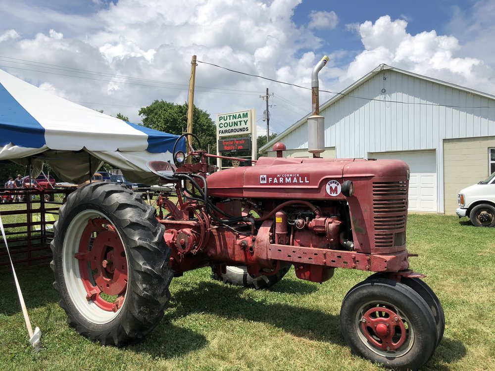 Vintage tractors are a big draw at the Putnam County Fair