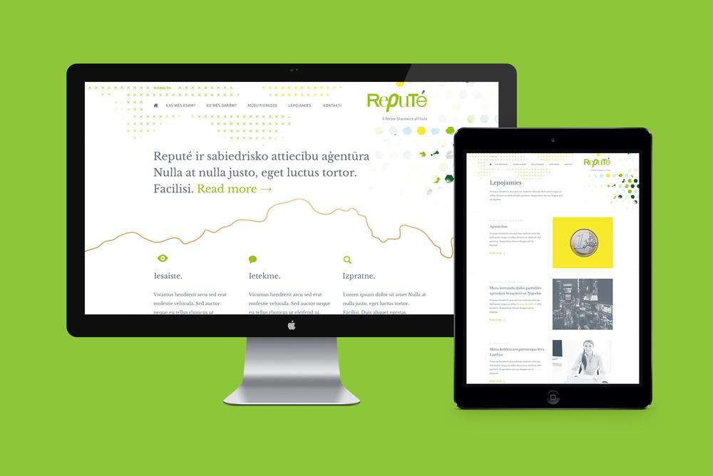 Repute web dizains