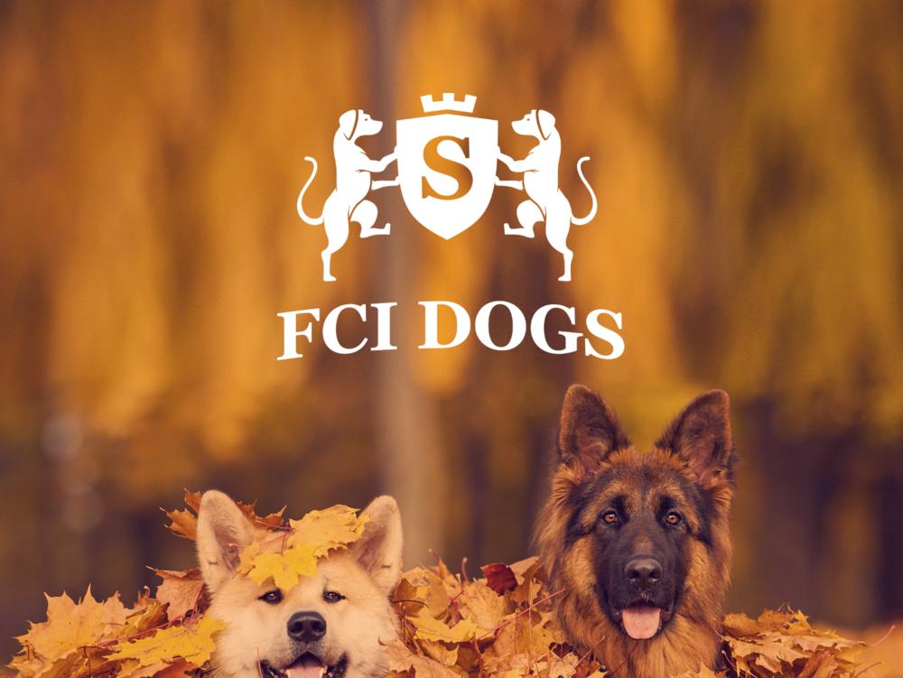 FCI dogs logo izstrade