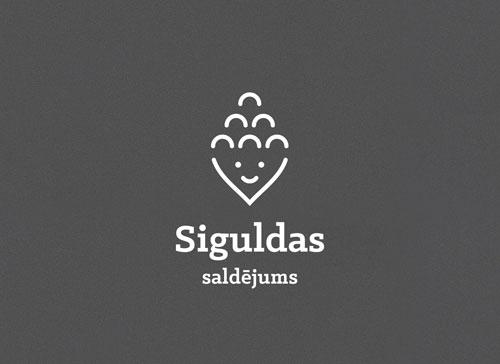 siguldas saldejuma logo dizains