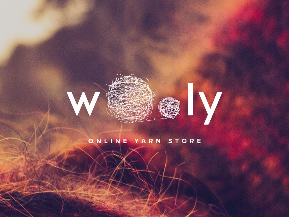 wooly logo dizains