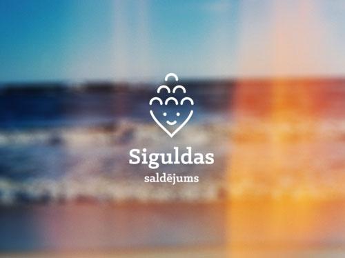 Siguldas saldejums logo dizains