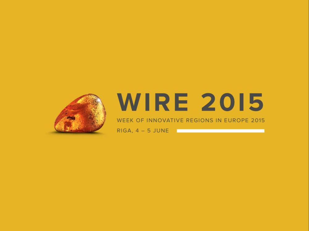 WIRE 2015 logo dizains