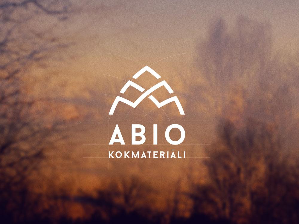 Abio logo dizains