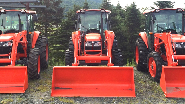 Come Check Out Our Kubota M-Series Tractors!