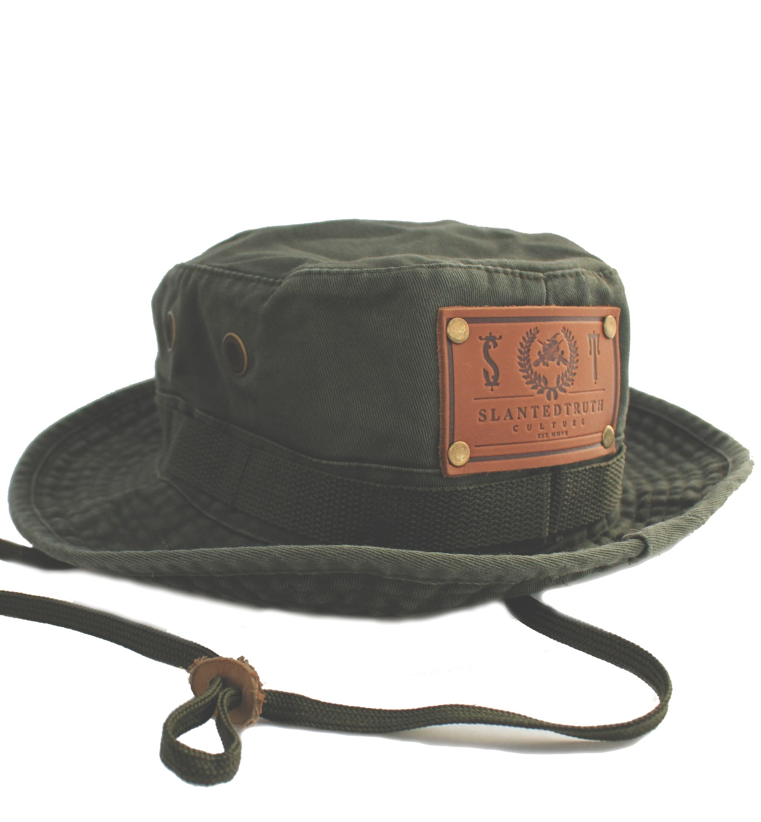 756b9715cca16 Vintage Boonie Hat   Solid Forest — S L A N T E D T R U T H