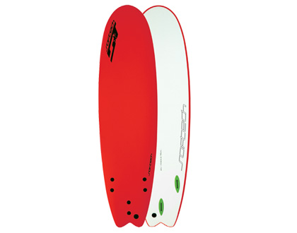 6'6 Hand Shaped Safe, soft and fun. Great beginner template and shape. Fish tail for added speed. LEARN MORE